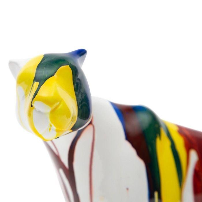 Serie ANIMALES S | Puma multicolor