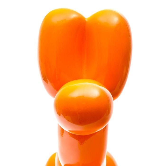 Chien ballon orange   Série S