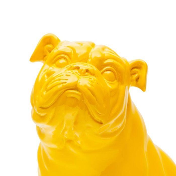 Serie ANIMALES XS | NAUNET Bulldog amarillo sentado