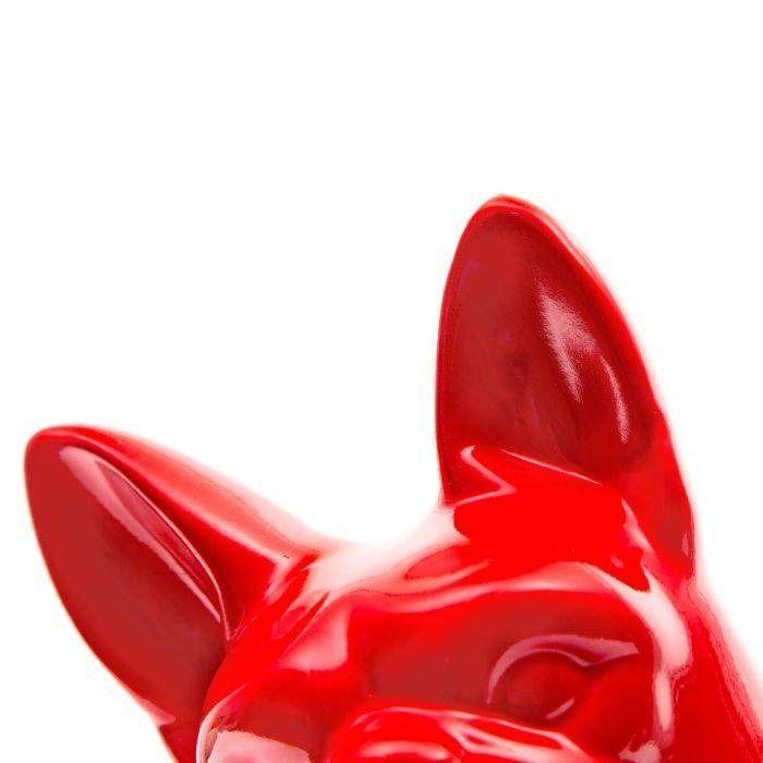 Serie ANIMALES S | MAAT Boston Terrier rojo