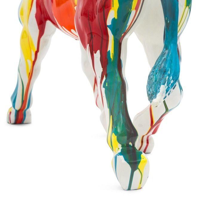 Serie ANIMALES L | Caballo multicolor