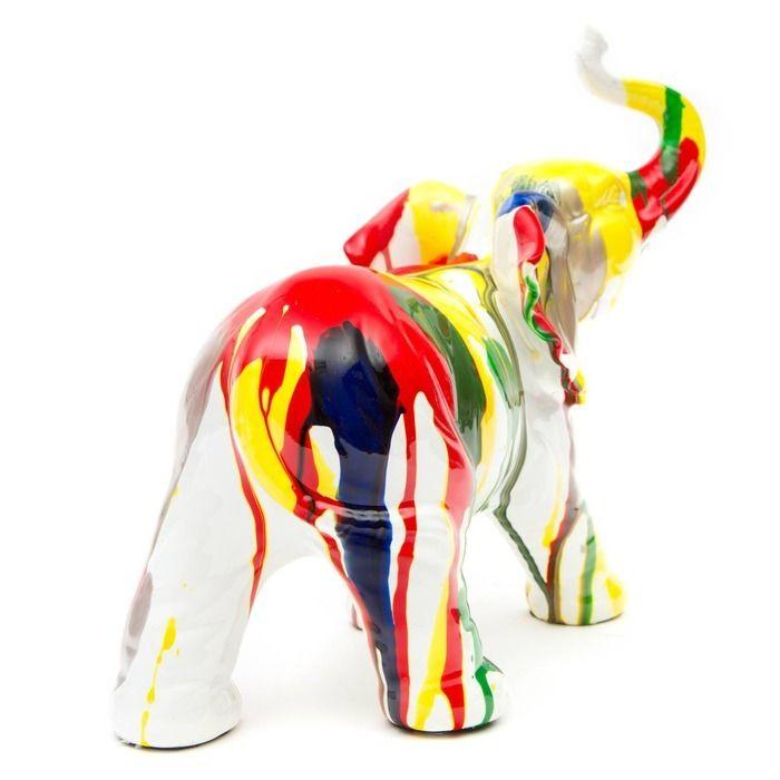 Serie ANIMALES XS | TANTOR Elefante multicolor
