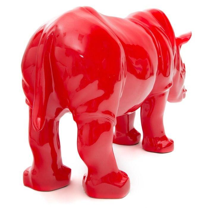Serie ANIMALES XL | Rinoceronte rojo