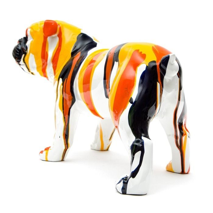 Serie ANIMALES S | LOKI Bulldog multicolor