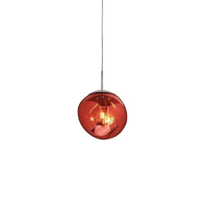 Suspension rouge | Thelio  (Ø 28  x H 166)
