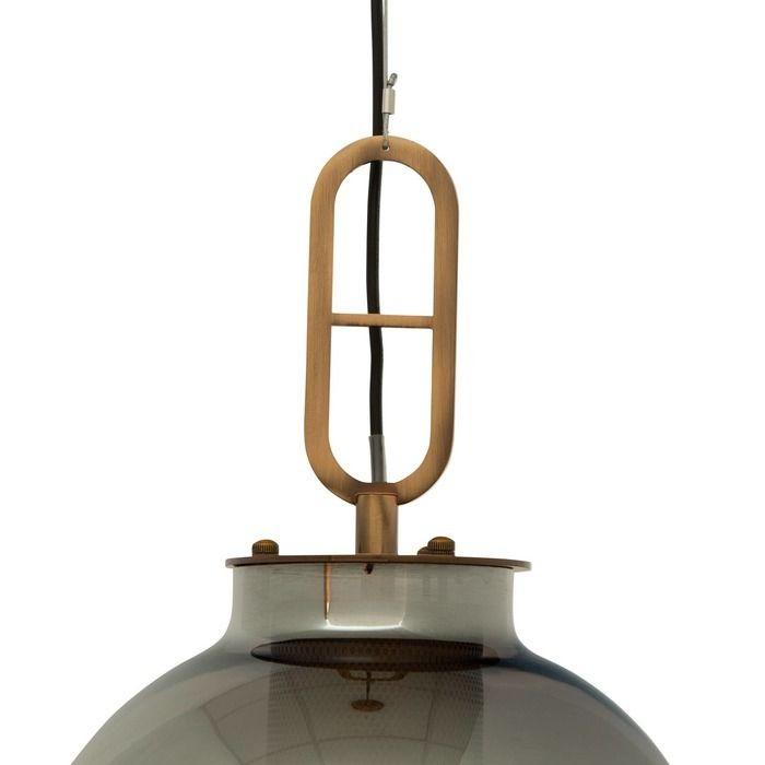 GYLUS | Lámpara colgante smoky (Ø 27 x H 160)