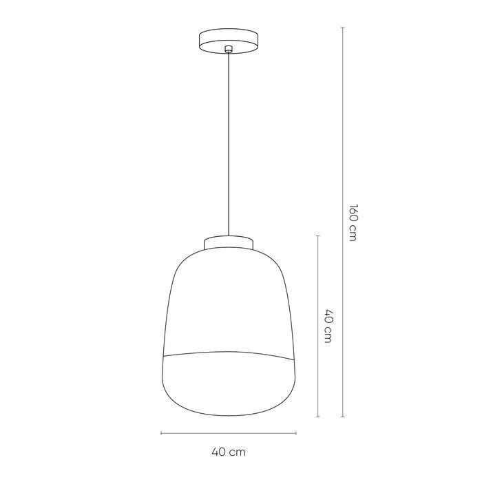 NONSEUM | Lámpara colgante (Ø 33 x H 160)