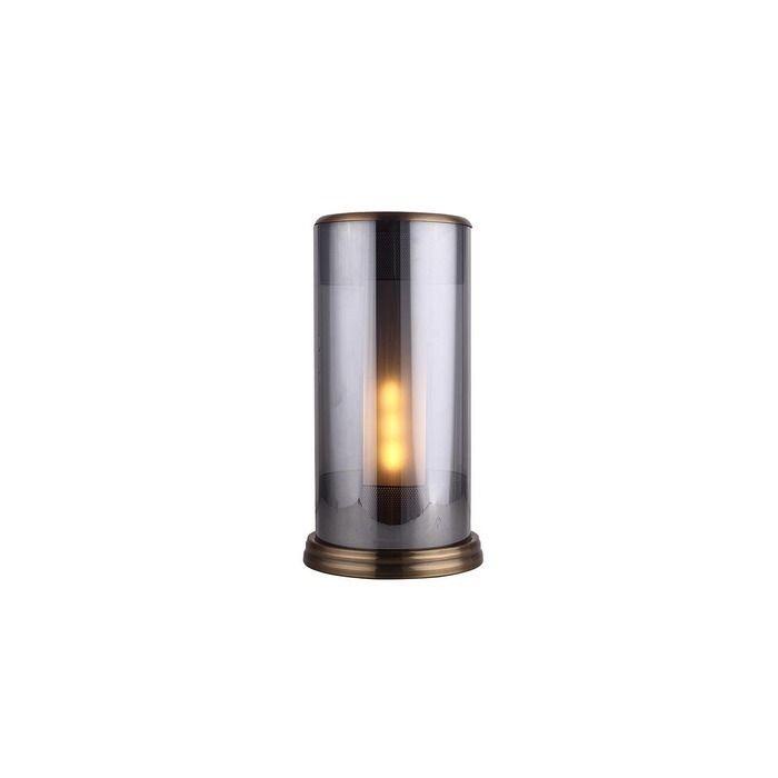 Lampe de table smoky   Panbat  (Ø 24  x H 40)