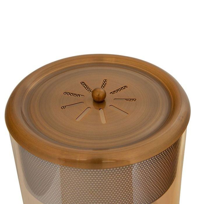 PANBAT | Lámpara de mesa champagne (Ø 24 x H 40)