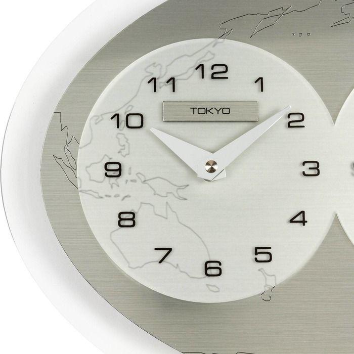Reloj de pared | Tre Ore nel Mondo (Tokyo - New York - Madrid)