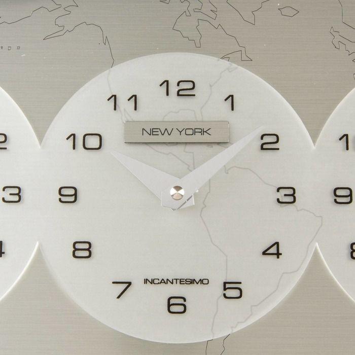 Reloj de pared | Tre Ore nel Mondo (Tokyo - New York - Paris)
