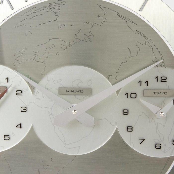 Horloge murale Momentum Tre Ore (New York - Madrid - Tokyo )