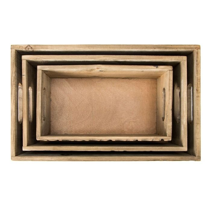 MYNS | Set 3 cajas de madera