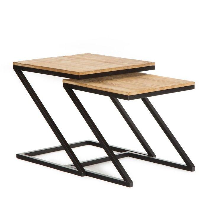 Set 2 tables d'appoint Aphex  | SérieTex