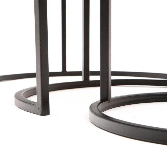 Serie TEX | Set 3 mesas nido auxiliares Tape