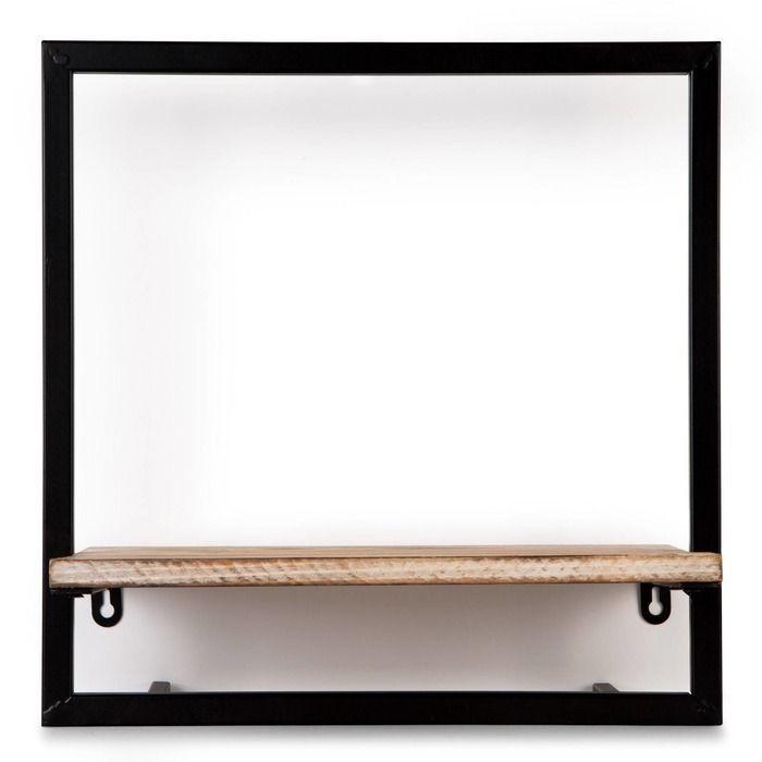 Étagère murale horizontale P (35 x 23 x 35) | Série Lick