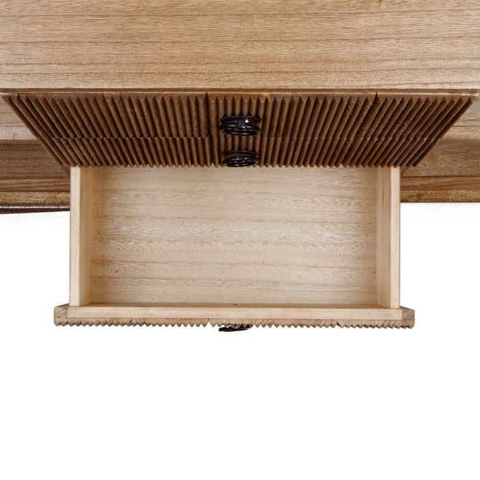 LESSIME | Librería de madera paulownia (75 x 40 x 189)