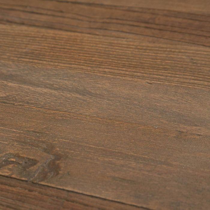 GYPE | Mesa auxiliar de madera de olmo reciclado y acero (50 x 50 x 59)