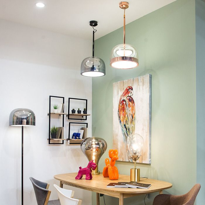 RAYCHEL Perla | Lámpara colgante Ø 36