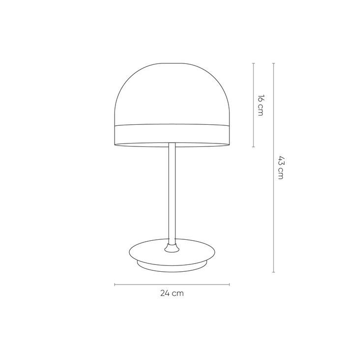 Lampe de table   Raychel Perle (Ø36 x H 60)