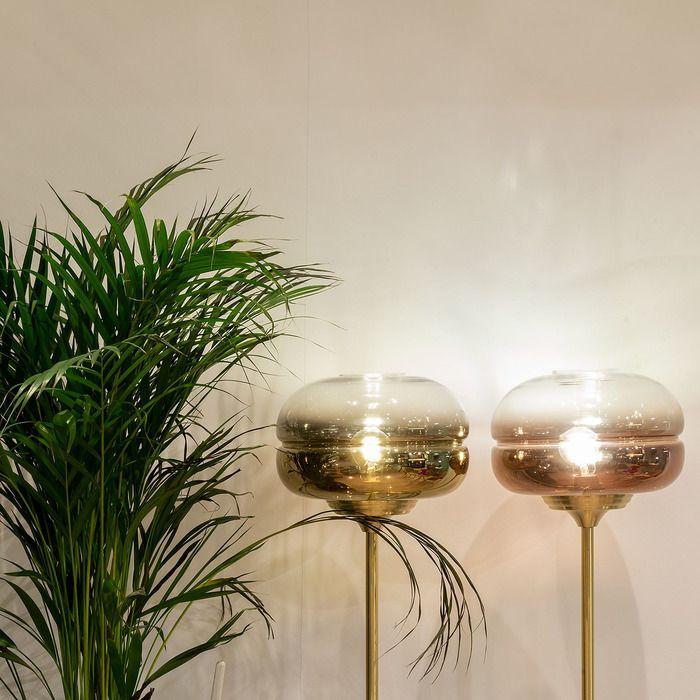 DABACHE Oro | Lámpara de pie (Ø 30 x H 160)