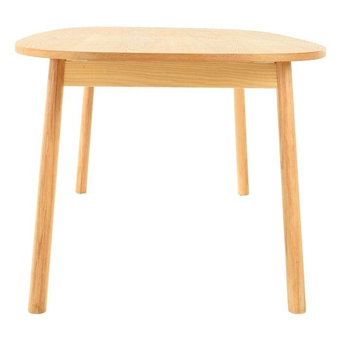 Table à manger. Bois de frêne (180 x 95 x 72,5 cm) | Série Beksand