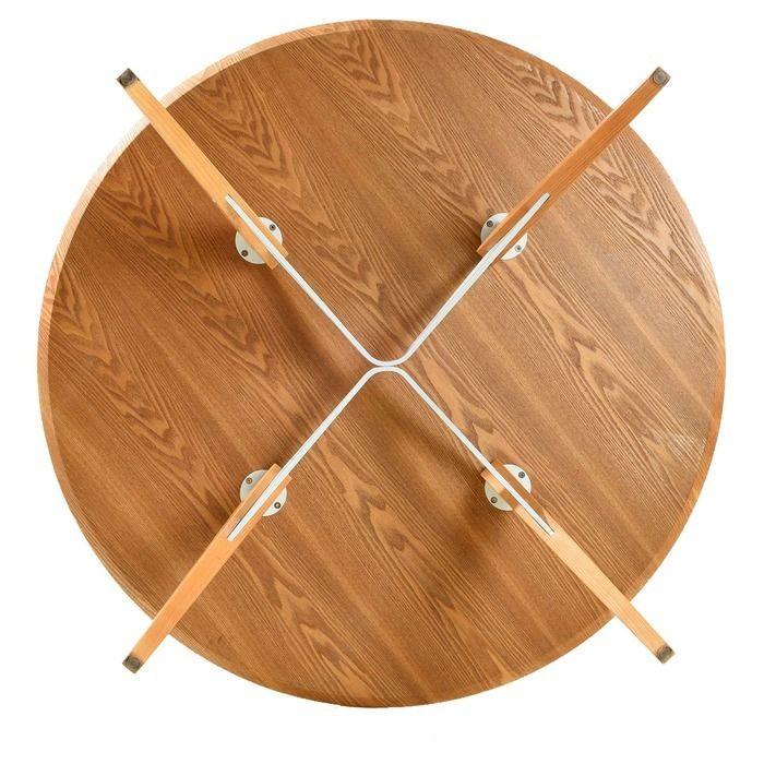 Table à manger ronde. Bois de hêtre (120 x 74´5 cm) | Série Jomez