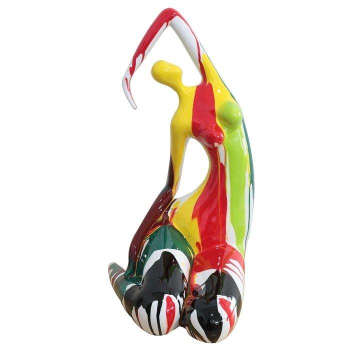 Figure féminine Clarise multicolore | Série M