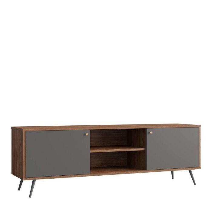 UKKO Grey | Mueble para TV (176 x 40 x 57,5 cm)