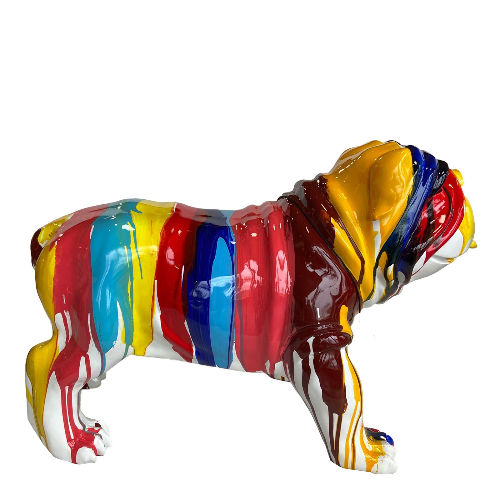 Serie ANIMALES M | GREGOR Bulldog multicolor