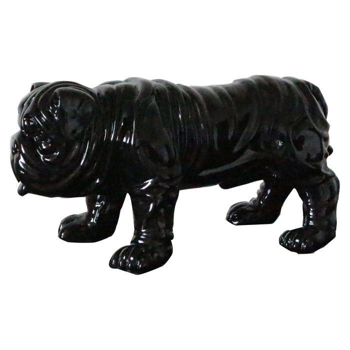 Serie ANIMALES XS | TROY Bulldog negro