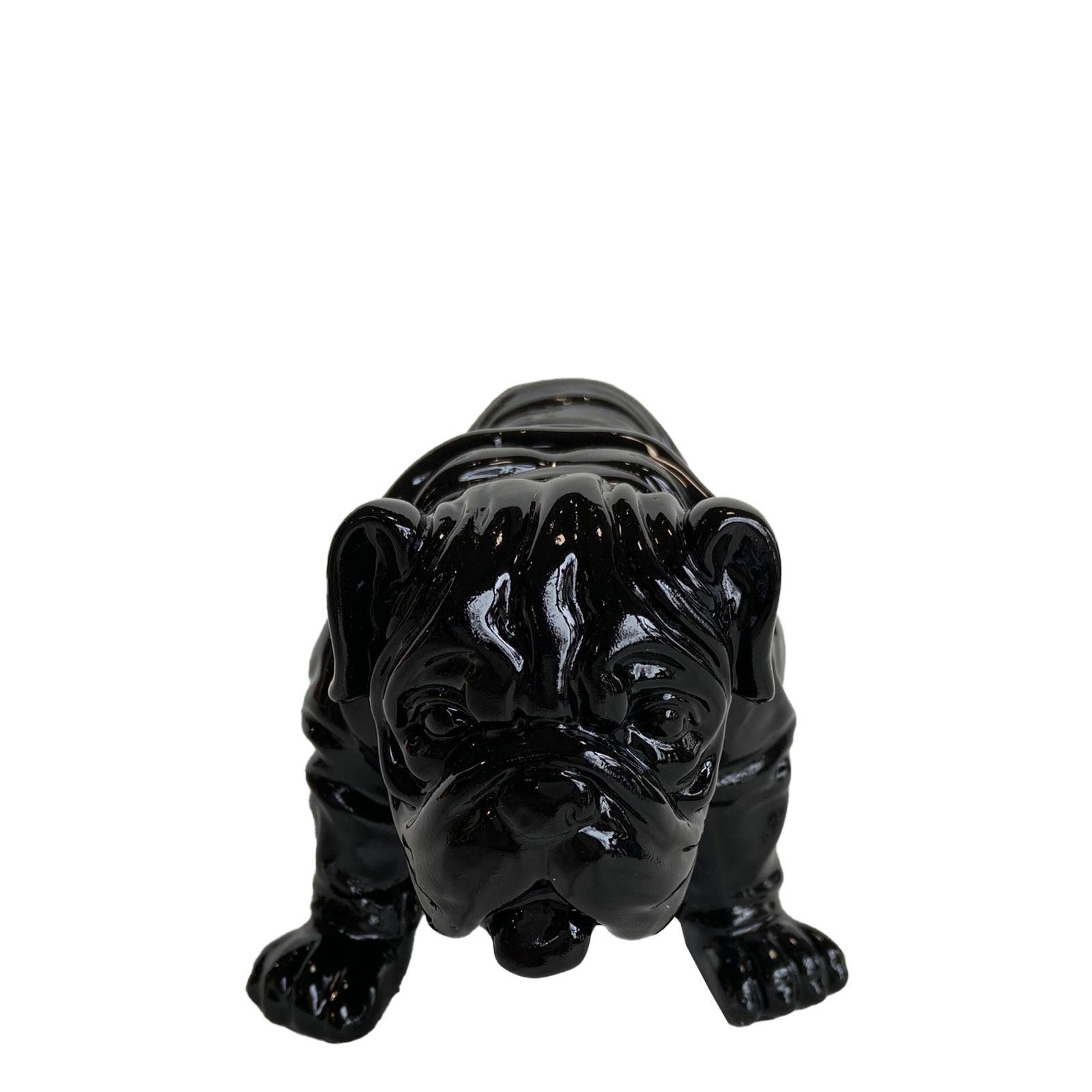 Serie ANIMALES XS   TROY Bulldog negro