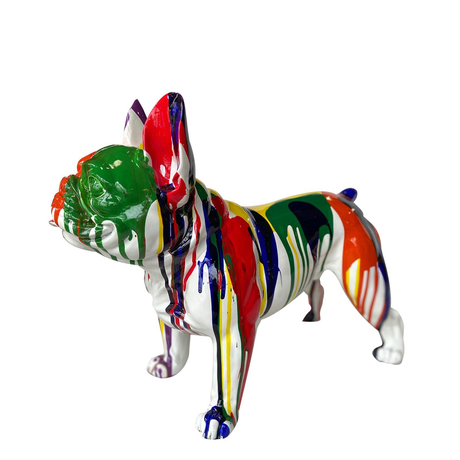 Serie ANIMALES M   BRAN Boston terrier multicolor