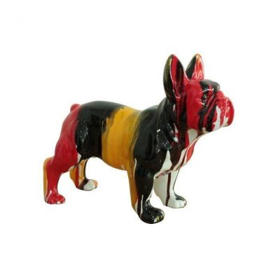 Serie ANIMALES XS | FEBO Boston Terrier multicolor
