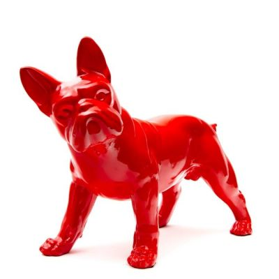 Serie ANIMALES S | Boston Terrier rojo