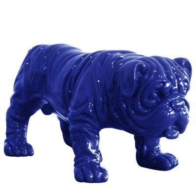 Serie ANIMALES XS | Bulldog azul