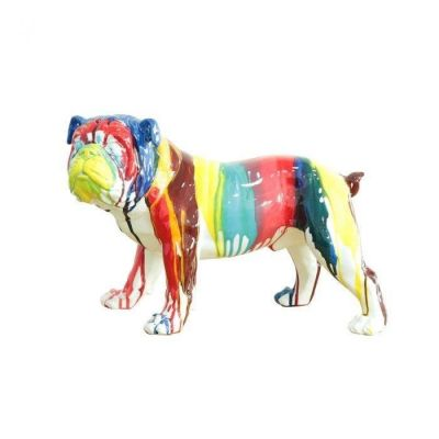 Serie ANIMALES M | HERA Bulldog multicolor