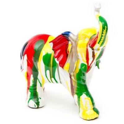 Éléphant multicolore | Série XS