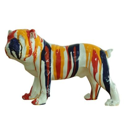 Serie ANIMALES S | LOKI Bulldog multicolor