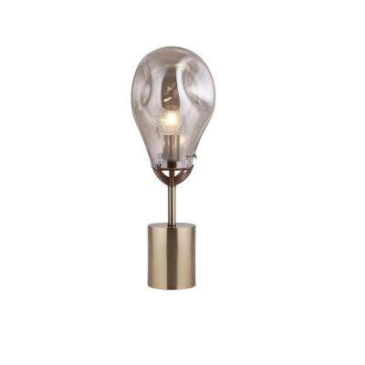 PANIST | Lámpara de mesa champagne (Ø 23 x H 60)