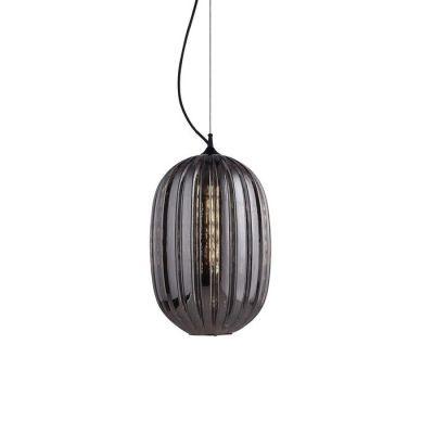TULINE | Lámpara colgante smoky (Ø 32 x H 160)
