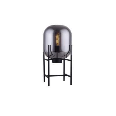 Lampe de table smoky | Bharian (Ø 27  x H 50)
