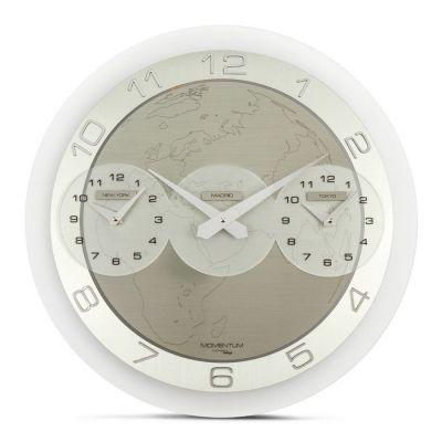 Reloj de pared | Momentum Tre Ore (New York - Madrid - Tokyo )