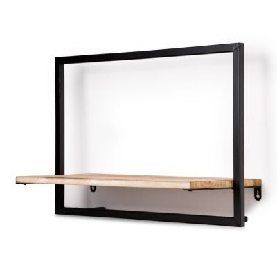 Serie LICK | Estantería de pared horizontal M (50 x 23 x 35)
