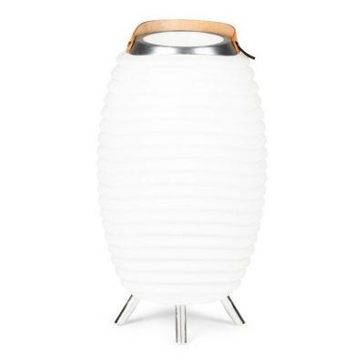 KOODUU | Synergy 65 Lámpara LED de pie multifunción con altavoces bluetooth