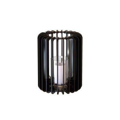 Bougeoir Cylindre 30 noir