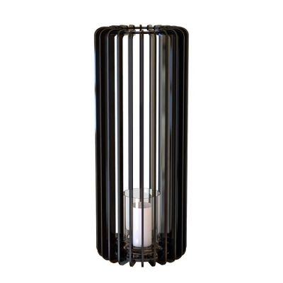 Bougeoir Cylindre 60 noir