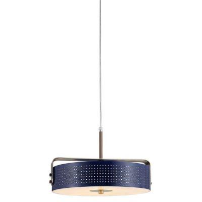 MOHICA Azul | Lámpara colgante Ø 40