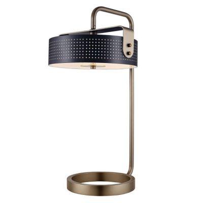 Lampe de table | Mohica Noir (Ø36 x H 60)