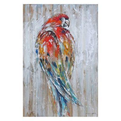 Tableau perroquet (80 x 120 cm) | Série Animaux